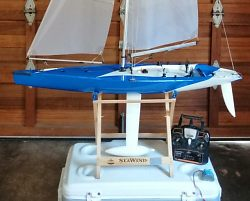 Used Kyosho SeaWind RC yacht for sale