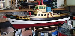 Fire Dragon RC model boat for sale